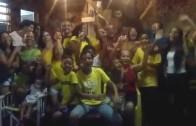 Festa da Copa do Mundo em Cidade de Deus