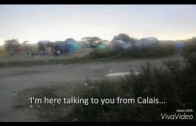 Video Postcard from Calais Refugee Camp