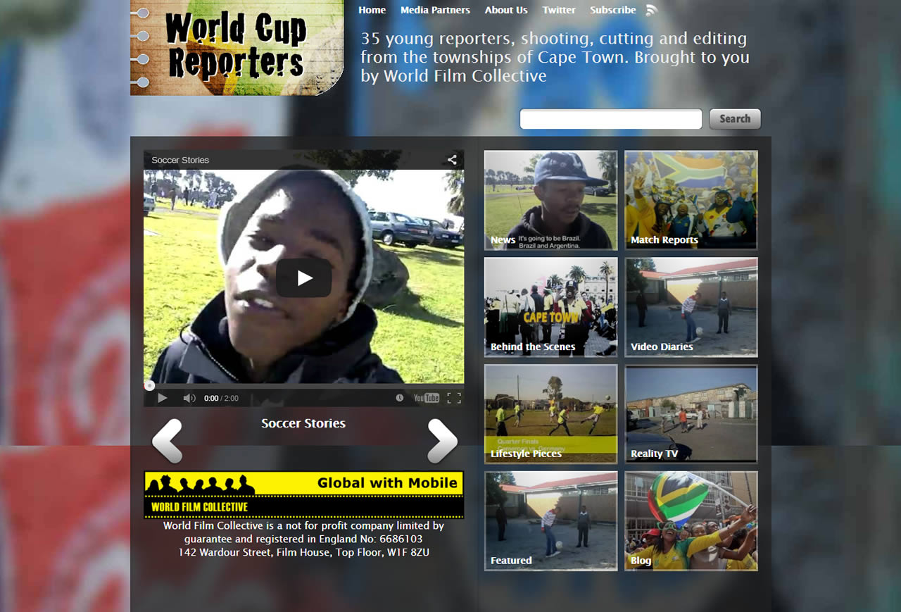 World Cup Reporters 2010